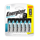 Energizer Maxplus AA 6 Pack