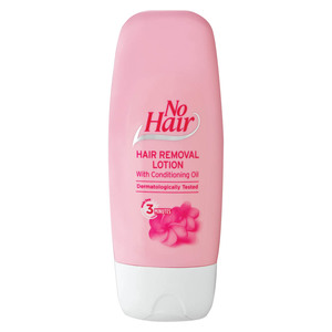 No Hair Hair Remover Lotion With Baby Oil 125ml