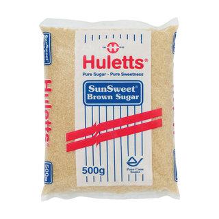 Huletts Brown Sunsweet Sugar 500g x 25