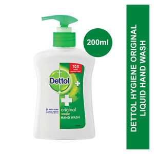 Dettol Liquid Hand Wash Pump Original 200ml