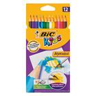 BIC Kids Aquacouleur Pencils 12ea