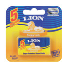Lion Super Stainless Blades 5ea