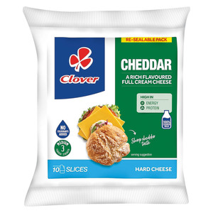 Clover Sliced Cheddar Cheese 150g