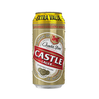 Castle Lager Can 500ml 500 M L x 6