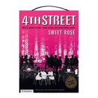 4th Street Natural Sweet Rose 3l x 6