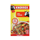 Knorrox Stock Cubes Beef 12s