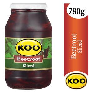 Koo Crinkle Cut Beetroot Slices 780g