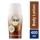 Dawn Body Lotion Cocoa Butter 400ml