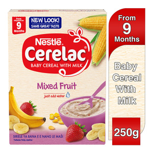 Nestle Cerelac Infant Cereal Mixed Fruit 250g