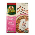 JUNGLE MUESLI NUTS&RAISINS 750GR