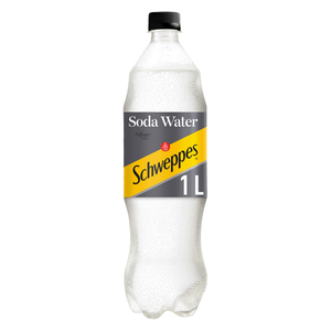 Schweppes Soda Water Plastic Bottle 1l