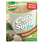 Knorr Cup-A-Soup Lite Mushroom & Herb 4s
