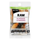 PnP Live Well Raw Almonds & Raisins 30g