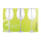 Valvetro White Wine Glasses 3ea