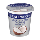 Lancewood Double Cream Coconut Yoghurt 150g