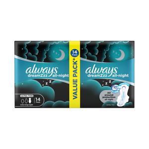 Always Ultra Sanitary Pads Night 14s