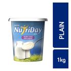 Danone Nutriday Double Cream Plain Yoghurt 1kg
