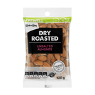 PnP Dry Roast Unsalted Almonds 100g