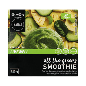 Kauai Smoothie All the Green 720g