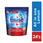 Finish All In One D/wash Tabs Lemon 24ea