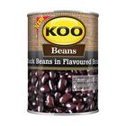 KOO BLACK BEANS IN BRINE 410GR x 12