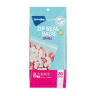 PnP Food Bags Zip Seal Small 20ea
