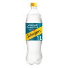 Schweppes Lemonade Plastic Bottle 1l