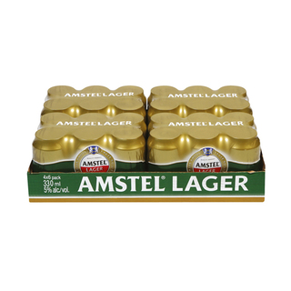 Amstel Lager Can 330 Ml X 24