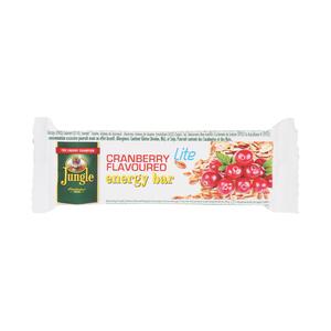 Jungle Energy Bar Lite Cranberry