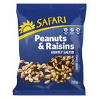 Safari Peanuts And Raisins 750g
