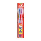 Colgate Double Action Toothbrush Medium Twinpack