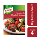 Knorr Cook In Sauce Homestyle Meatball Kebabs 50g
