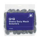 PnP Heavy Duty Mesh Scourers 18ea
