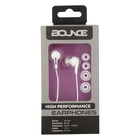 Bounce Hustle Series In Earphones White