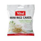 Vital Mini Rice Cream Cheese & Chives 30g