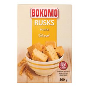 Bokomo Sliced Rusks 500g