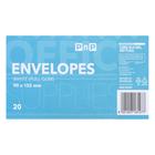 PnP White Envelopes 20ea