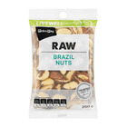 PnP Live Well Raw Brazil Nuts 250g