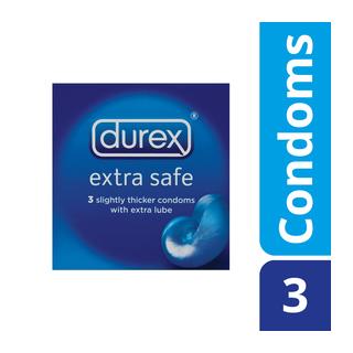 Durex Condoms Extra Safe 3ea