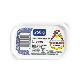 Goldi Chicken Livers In Tub 250 GR