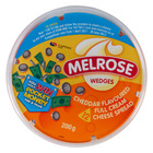 Melrose Cheddar Cheese Wedges 200g