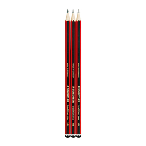 Staedtler HB Traditional Pencils 3s