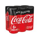 Coca-Cola Zero Can 300ml x 6