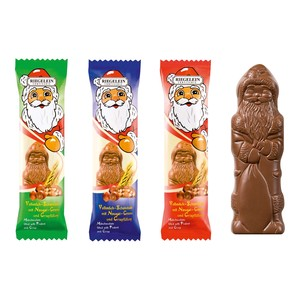 Riegelein Santa Clause Crisp Bar 50g