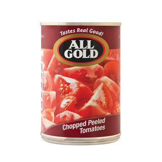 All Gold Chopped Peeled Tomatoes 410g x 12
