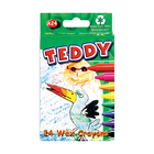 TEDDY WAX CRAYONS 24EA