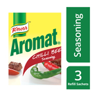 Knorr Aromat Chilli Beef Seasoning Trio Refill Pack 200g