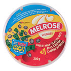 Melrose Sweet Milk Cheese Wedges 200g