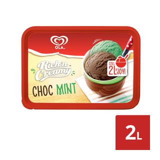 Ola Rich 'n Creamy Choc Mint Flavoured Ice Cream 2l