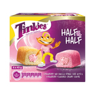 Tinkies Half & Half Strawberry Vanilla Flavoured Sponge Cake 6s